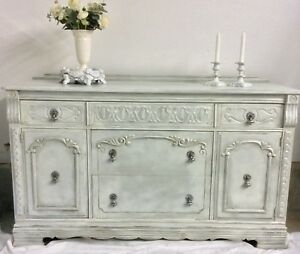 Custom Finish Antique Buffet