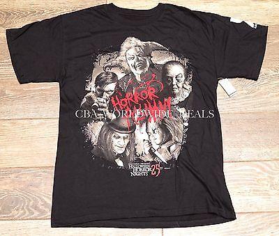 Universal Orlando Halloween Horror Nights HHN 25 Passholder 2015 T-Shirt S-3XL