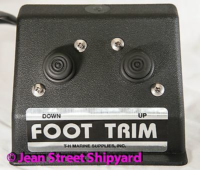Marine Boat Hands Free Foot Operated Hot Trim Tilt Jack Plate Control (Boat Tilt Trim)