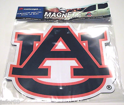Ncaa College Large Game (AUBURN UNIVERSITY LARGE MAGNET, 1 PER PK COLLEGE-NCAA, GAME DAY, REGULAR SEASON )
