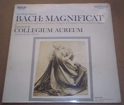 Collegium Aureum Thomas C P E  Bach Magnificat   Rca Vics 1368 Sealed