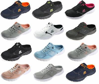 Damen Herren Sabots Sneaker Sandalette Pantoletten Slipper Freizeitschuhe SD223