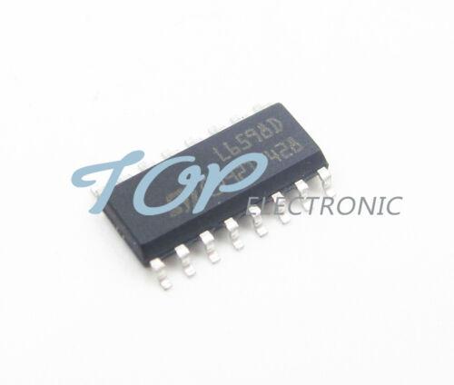 2PCS L6598D L6598 High voltage resonant controller SOP-16 ST Good Quality