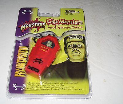 1999 Tiger Electronics Universal Monsters Frankenstein Giga Monsters Pets MOC