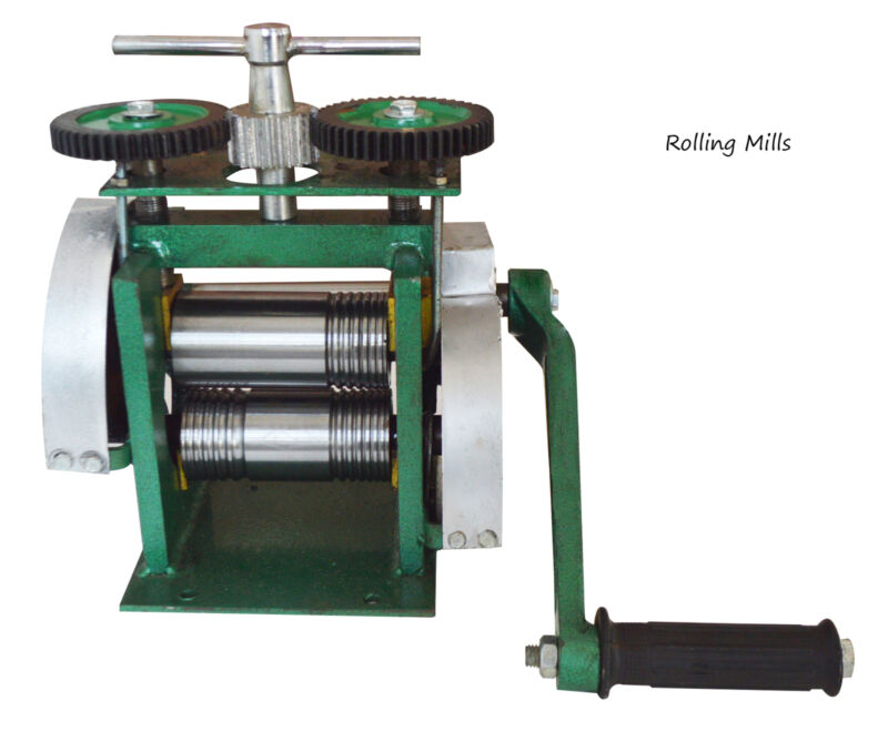 Manual Rolling Mills for Half Round and Square Jewelry Press Tool Tablet Machine