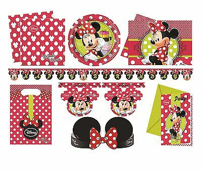 MINNIE'S FASHION Birthday PARTY RANGE (Partyware/Decoration/Celebration)
