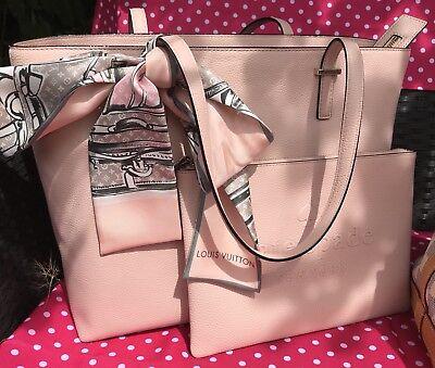 Roses Pochette (Kate Spade Leder Rose Ballerine Rosa Tasche Clutch  Luxus Pochette Pouch Gia)