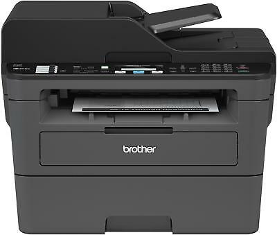 Brother - MFC-L2710DW Wireless Black-and-White All-in-One Printer - Black