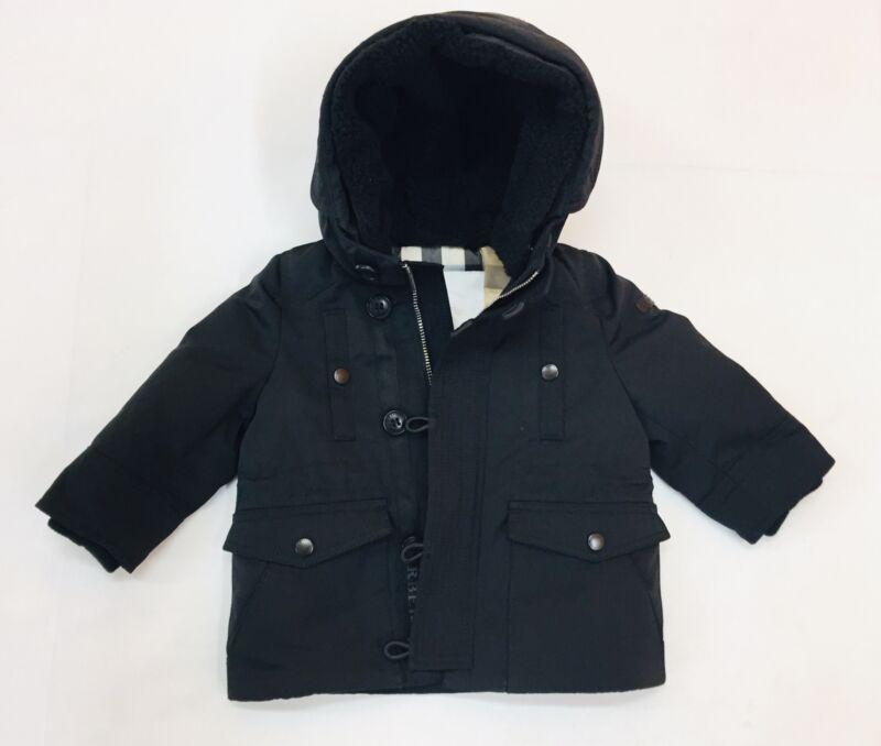 Burberry Baby Boy Hoodie Jacket Black 6 Months