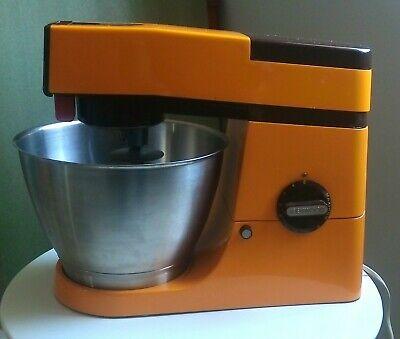 Kenwood Chef A901P K beater, whisk, dough hook, retro Orange