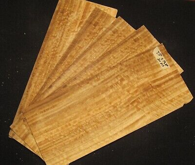 Wood Veneer Quilted 20 Sheets 7.5 X 18.25 Luthier