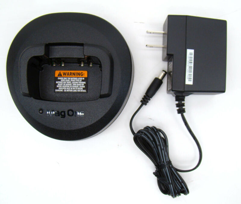 Motorola MagOne Rapid Charger PMLN5041A BC130, BPR40, A6, A8