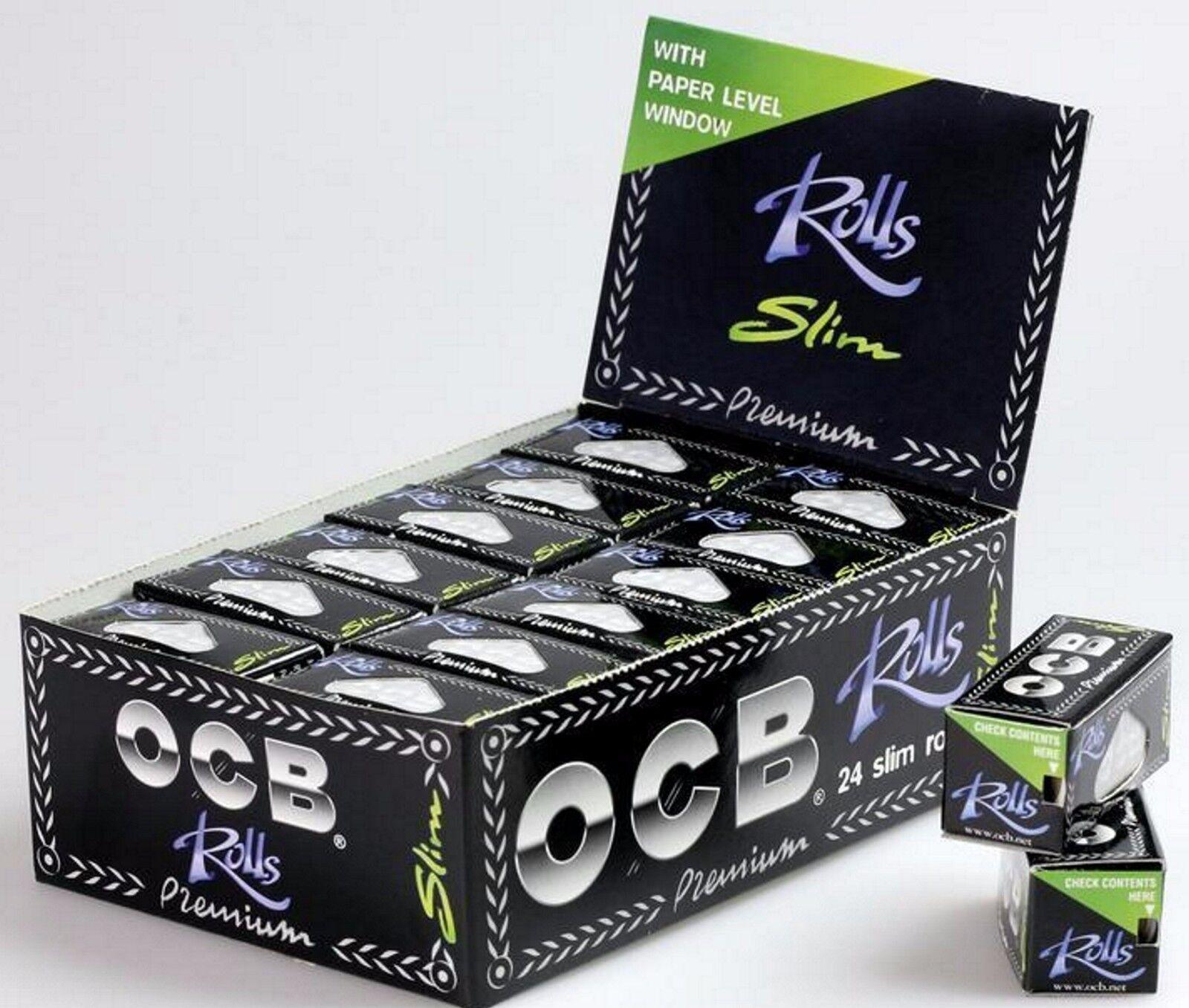 48x 2 Boxen OCB Rolls Endlospaper Papers Blättchen Rolle Paper NEU+OVP
