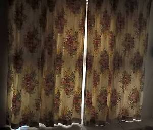Complete Blockout Pencil Pleat Curtains with White See Through Deception Bay Caboolture Area Preview