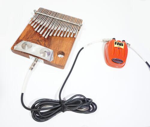 32 Key ELECTRIC Njari Vambe Mbira Thumb Piano Kalimba Handmde Zim SHIPS frm USA!