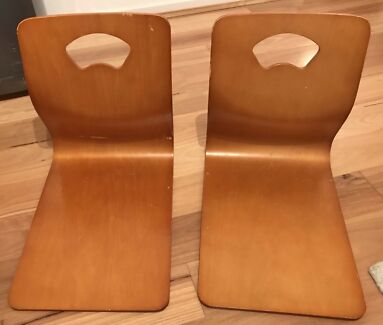 2 Japanese floor chairs