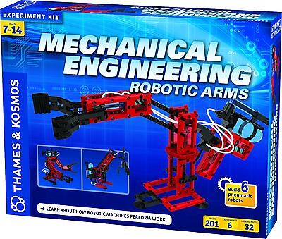 Thames & Kosmos Mechanical Engineering Robotic Arms Experiment Kit