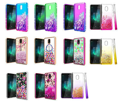 For Nokia 3.1 A / 3.1 C TA-1140 TA-1141 Liquid Glitter Case Phone Cover