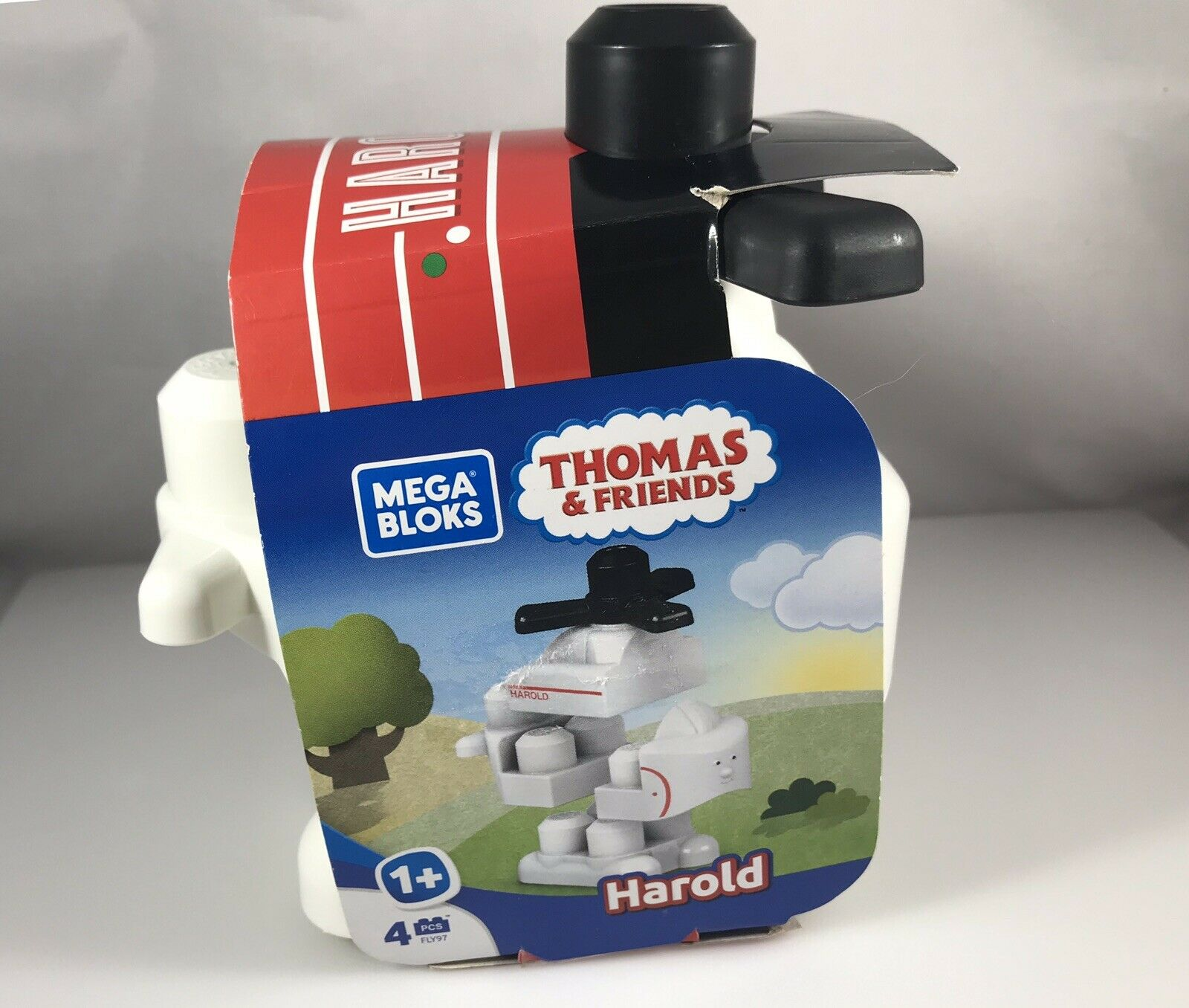 Mega Bloks Thomas & Friends Harold Helicopter NEW 4 Pieces 1 year and up