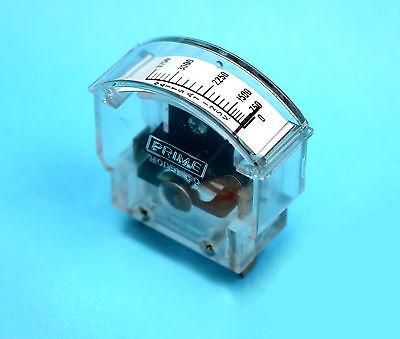 Prime Model 60 Emergency Generator Analog Wattmeter 3750 Watt Scale 125vac New