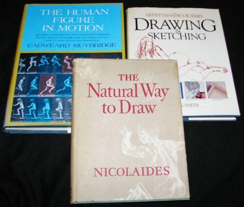 Human Figure in Motion~ Drawing & Sketching Handbook~ Natural Way to Draw