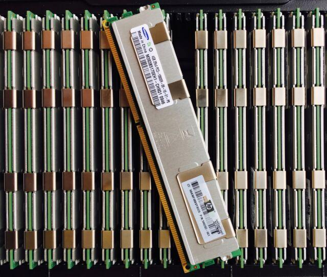 128GB 32 x 4GB DELL R410 R510 R610 R710  PC3-10600R DDR3-1333MHz ECC Reg