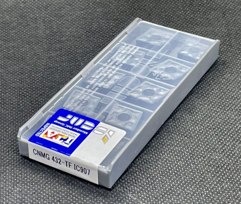 ISCAR CNMG 432-TF IC907  CNMG 120408-TF Carbide Inserts 10 PCS Free Shipping!