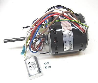 Furnace Air Handler Blower Motor 34 Hp 1075 Rpm 115 Volt 3 Speed For Fasco D728