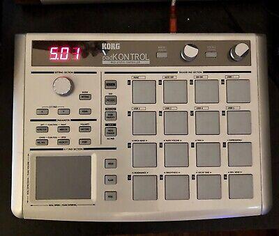 Korg PADkontrol MIDI Studio Controller KPC-1