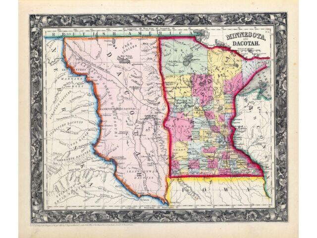 181 maps MINNESOTA state PANORAMIC genealogy old HISTORY atlas DVD
