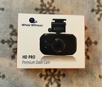 WheelWitness HD PRO Premium Dash Cam GPS 2K Super HD 170
