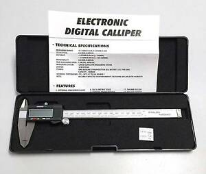 "Caliper Digital Electronic 0- 8"" 0-200mm Metric & Imperial St Marys Mitcham Area Preview"