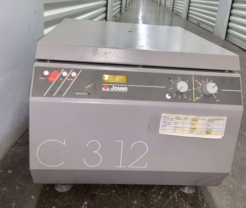 Jouan C3-12/C312 Digital Laboratory Centrifuge w/Max 4750RPM Swing Bucket Rotor
