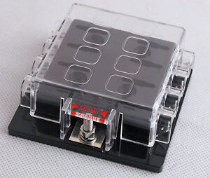 DC32V-8-Way-Circuit-Car-Boat-Automotive-Auto-Blade-Fuse-Box-Block-Holder-ATC-ATO