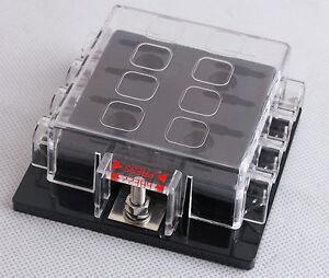 DC32V-8-Way-Circuit-Car-Boat-Automotive-Auto-Blade-Fuse-Box-Block-Holder-ATC-ATO