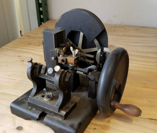 bausch & lomb antique microtome