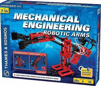 Mechanical Engineering Robotic Arms Science Experiment Kit Thames Kosmos 625415