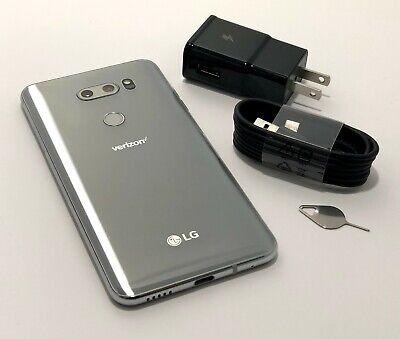 LG V30 ThinQ VS996 - 64GB - Cloud Silver - for Total / Page Plus / Verizon