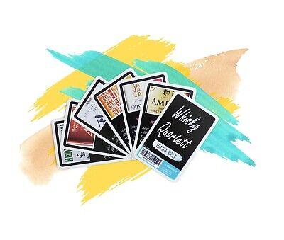 Whisky Quartett UM DIE Welt - Kartenspiel mit Whiskysorten