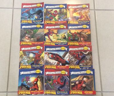 Learn to read Spider-Man Phonics book set