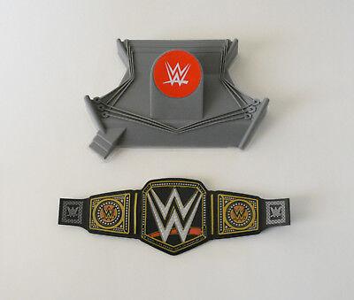 1 WWE Championship Wrestling Belt Ring Decoset Cake Topper Party Decoration Set (Wwe Ring Cake)