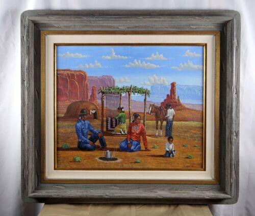 Robert Becenti Original Navajo Painting
