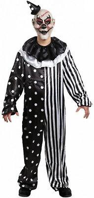 Kill Freude Clown Kostüm Erwachsene Killer Klowns Böse Gruselig Schwarz - Killer Klowns Kostüm