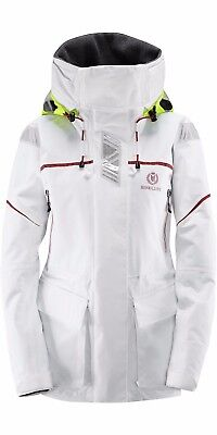2017 Henri Lloyd Freedom Offshore Mens Jacket Sailing Marine White Large Y00351