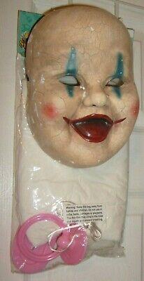 Evil Baby Halloween Costumes (Haunted Evil BABY GIRL DOLL HALLOWEEN COSPLAY MASK & COSTUME WOMAN TEEN 1)