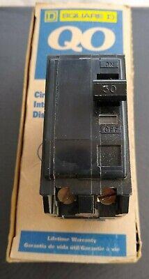 Square D Qo Hacr Two-pole 30 Amp Circuit Breaker