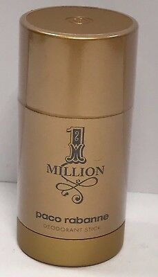 1 One Million Paco Rabanne Deodorant Stick For Men 2.3 oz/65 g New Sealed (1 Ounce Deodorant Stick)