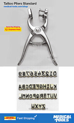 Tattoo Pliers Kit Marking Pliers Farm Animals Livestockanimal Identification
