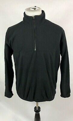 Augusta Sportswear Medium Adult Black Chill Fleece Half Zip Pullover NWT