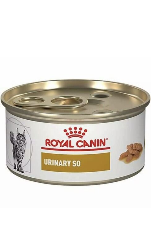 Royal Canin Feline Urinary SO Morsels In Gravy MIG Canned Cat Food, 3 oz (24 ct)
